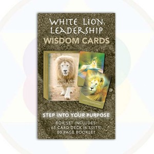White Lion Leadership Cards - 65 & Booklet