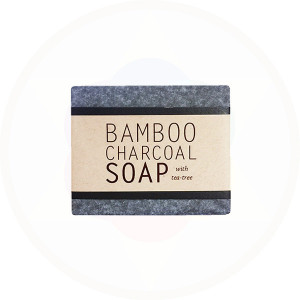 Kalyan Bamboo Charcoal Natural  Handcrafted Cleansing Bar
